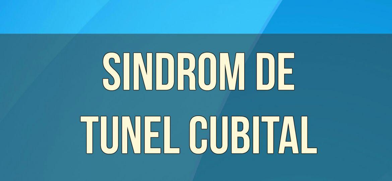 Sindrom de tunel cubital